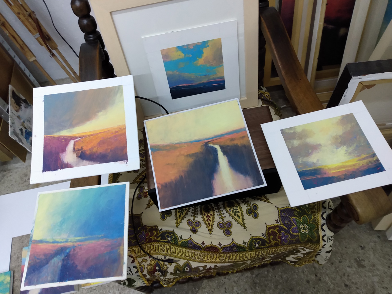 Lightfall paintings